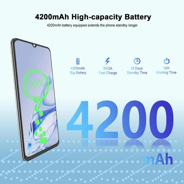 CUBOT Note 20 Mobile Phone  6.5″ HD Display 4200mAh Battery NFC Smart Phones Android 10.0 Rear Quad Camera Cellphones 64gb Rom 3