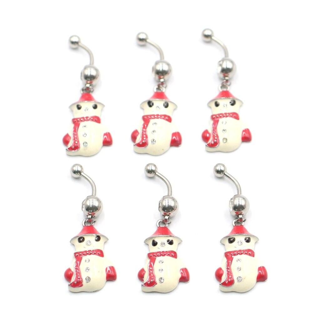 1pc Novo Estilo Bonito Umbigo de Bell Rings Botão 316L Piercing no Umbigo Anéis de Aço Cirúrgico Piercing No Umbigo Do Corpo Do Sexo jóias