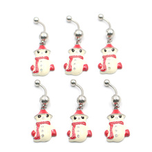 1pc New Style Cute  Navel Bell Button Rings 316L Surgical Steel Piercing Belly Sex Body Jewelry