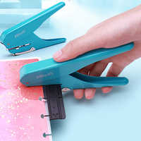 Mushroom Hole Notebook Puncher Scrapbooking Hole Puncher Manual Book Loose-leaf Manual Punching Machine Paper Hole Disc Puncher