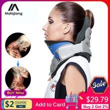 Dispositif de réparation de la Correction du cou, dispositif de Traction cervicale réglable, civière de colonne cervicale, correcteur de colonne vertébrale, Support de cou