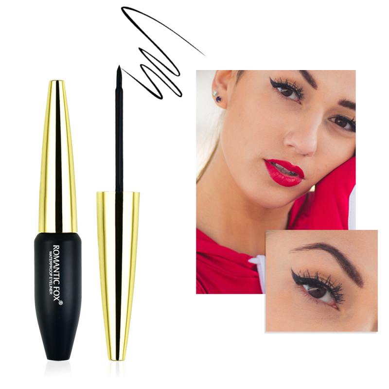 Professional Black Liquid Eyeliner Waterproof Long-lasting Make Up Women Comestic Eye Liner Pencil Makeup Eyes Marker Pen TSLM1