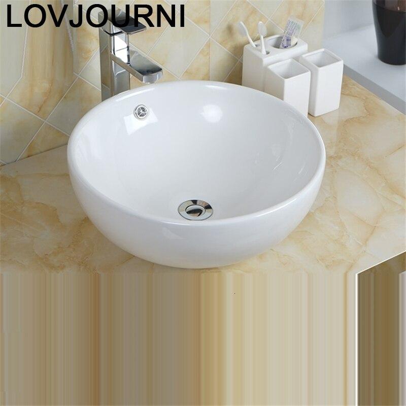 Sobre Encimera Bagno Bassin De Mano Black Lavatory Waschbecken Vessel Bathroom Vanity Pia Banheiro Lavabo Basin Sink Washbasin