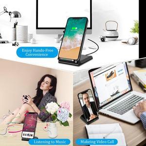 Image 5 - Беспроводное зарядное устройство FDGAO QI Type C USB 15 Вт для iPhone 11 Pro XS Max XR X 8 Быстрая зарядка Подставка для Samsung S10 S9 S8 Note 10 9 8