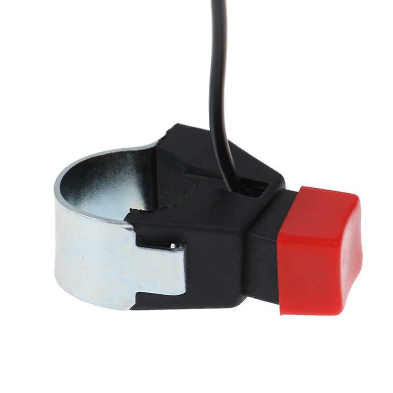Interrupteur universel de guidon de moto | 4.2*3.8cm, interrupteur de démarreur de klaxon et de bouton de mort, interrupteur simple de moto E Bike