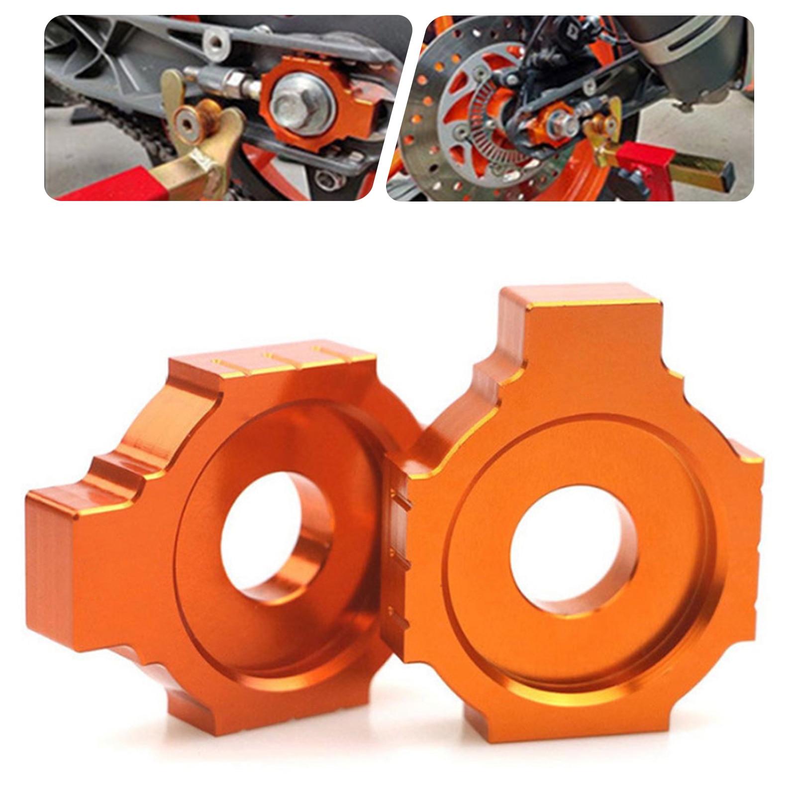 Motorrad Kette Teller Regler Sliders Für XC-W XCF-W EXCF EXC 525 520 500 450 400 350 380 300 250 200 125 SXS SXF SX