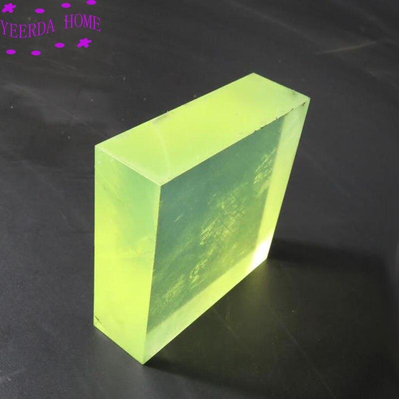 แผ่นยางยูรีเทน PU ก้อนสี่เหลี่ยม โพลียูรีเทนแผ่น ยืดหยุ่น รองตัดเบาะยางรองตัดหนัง ยูรีเทนแผ่นรองตัดไดคัท ยางรองมีด