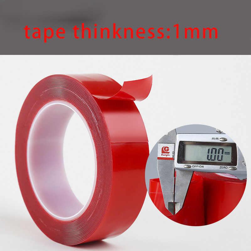 Nieuwe 3M Dubbelzijdig Adhesive Super Sterke Transparante Acryl Foam Adhesive Tape 6mm 8mm 10mm 12mm 15mm 20mm Geen Sporen Sticker