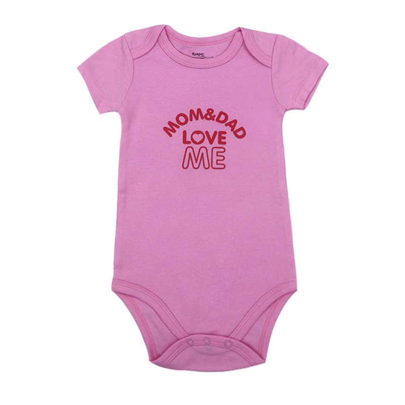 男の子服新生児服綿 100% 0-12 mボディースーツ女の子服roupasデベベ