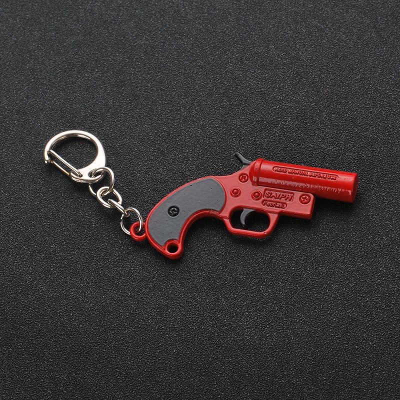 2019 Горячие игры 26 стилей PUBG CS GO брелоки в виде оружия AK47 пистолет Модель 98K снайперская винтовка брелок для мужчин подарки, сувениры 12 см