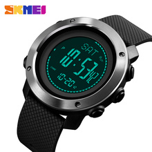 цена на SKMEI 2019 New Altimeter Barometer Thermometer Altitude Men Digital Watches Sports Clock Climbing Hiking Wristwatch Montre Homme