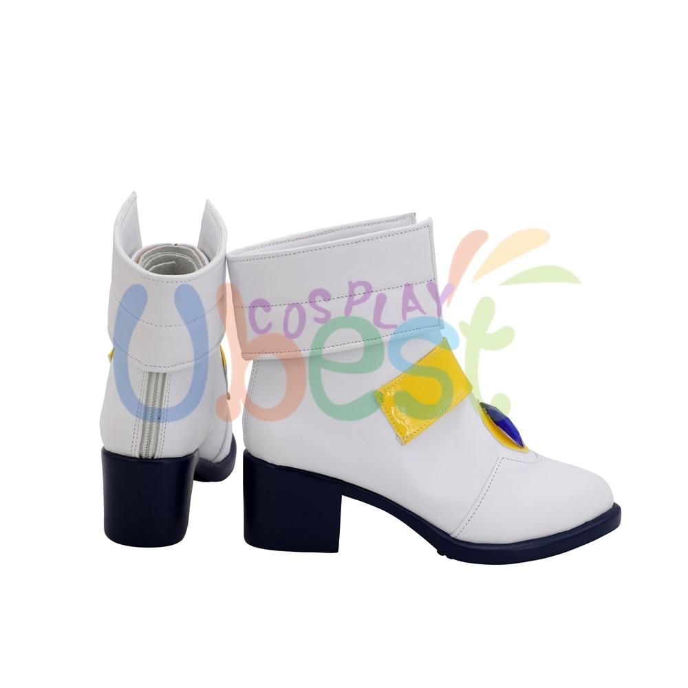 Details about  /Magical Girl Lyrical Nanoha Nanoha Takamachi Shoes Cosplay Women Boots
