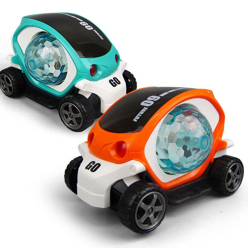 Electric Lighting Car Toy Kids LED Flashing Light Music Singing Sound Kids Children Gift Toys