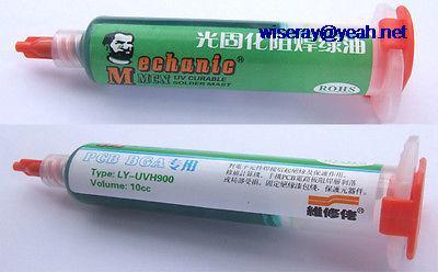 DHL/EMS 50 PCS 10cc UV Curable Solder MAST RoHS For PCB BGA Dedicated Soldering Repair -A7