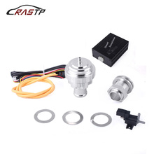 RASTP-BOV Universal Electrical Turbo Diesel Dump Valve Vacuum Blow Off Valve Kit For Audi 1.9 2.0 RS-BOV030 new electrical diesel blow off valve with horn outside for audi a3 s3 diesel dump valve diesel bov with horn wlr5011w 5743