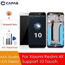 グレード aaa xiaomi redmi 4X グローバル液晶デジタイザディスプレイアセンブリ完全なタッチフルスクリーンタッチスクリーン交換部品