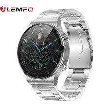 Lemfo relógio inteligente homem ip68 à prova dip68 água smartwatch para huawei relógio gt 2 pro personalizado dials 1.3 Polegada 240*240 de oxigênio no sangue