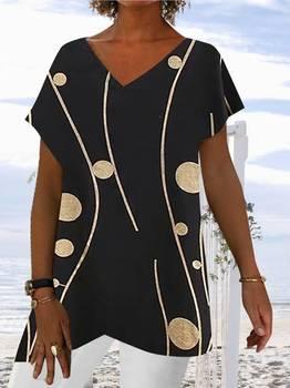 Fashion plus size women's V-neck sleeveless T-shirt casual plus size loose ladies T-shirt tops women платье авантюра plus size fashion авантюра plus size fashion mp002xw0er09