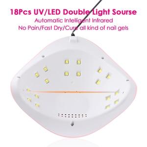 Image 3 - Ensemble de lampes Gel pour manucure 54W lampe à UV LED, séchage à la lumière du soleil, séchage des ongles, vernis hybride, TRSUN X3Plus