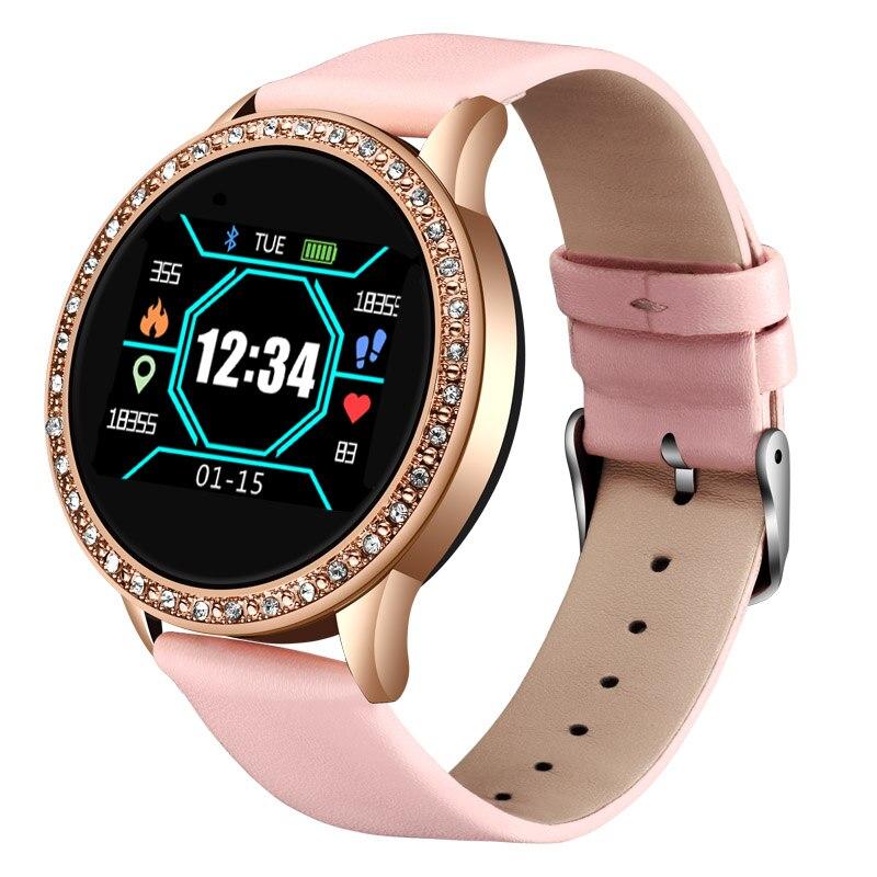 LIGE Ladies Smart Watch Women Blood Pressure Heart Rate Monitor Fitness tracker Sport Smart Band Alarm clock reminder Smartwatch 5