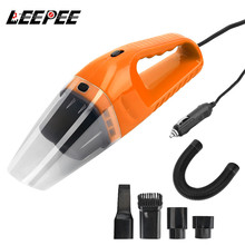 Vacuum-Cleaner Handheld Portable Car 12V 120W Ce LEEPEE with Led-Light Wet-And-Dry Dual-Use