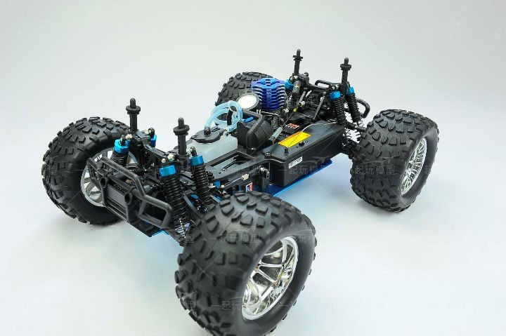 Free shipping RC Monster HSP 94188 Nitro 4WD 2.4GHz 110 RTR RC CAR Big Foot d12