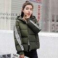2019 nova parkas jaquetas de inverno básico feminino inverno mais veludo cordeiro casacos com capuz para baixo jaqueta inverno das mulheres outwear