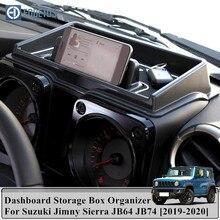Caja de almacenamiento para salpicadero de coche, accesorios interiores para Suzuki Jimny Sierra JB64 JB74 2019 2020, Suzuki Jimny Sierra JB64 JB74