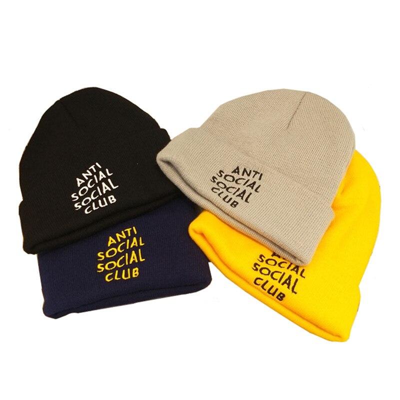 Casual Winter Man's Hat Women Beanie Letter Kpop Cap Knit Hats Hip-hop Beanies Boys Bonnet Adults Gorros Invierno Hombre Chapeau