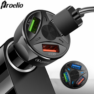 3 Ports USB Car Charger Quick