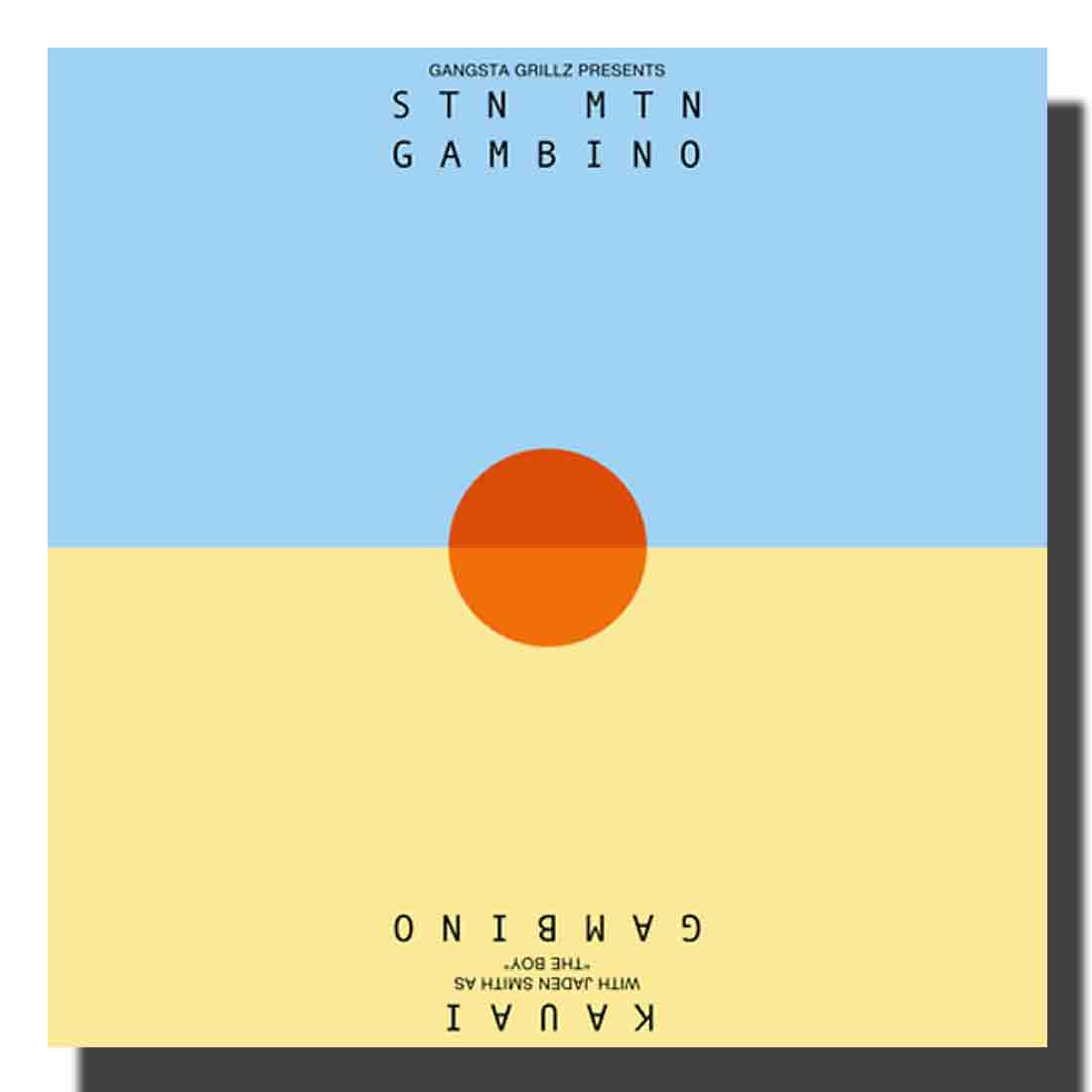 Childish Gambino STN MTN Kauai 2014 Rap Album Silk Cloth Poster D-820