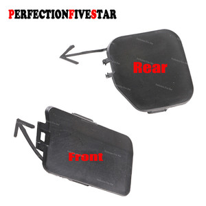 57731SC050 57731SC040 For Subaru Forester 2009 2010 2011 2012 2013 Front / Rear Bumper Grill Tow Eye Hook Cap Cover Primed Color(China)