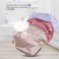 3 шт. сатиновый Чепчик для сна полезный практичный колпак для сна защита волос для путешествий