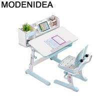 Infantiles Play Tavolo Per Bambini Chair and Avec Chaise De Estudio Adjustable Enfant Kinder Mesa Infantil Study Table для детей