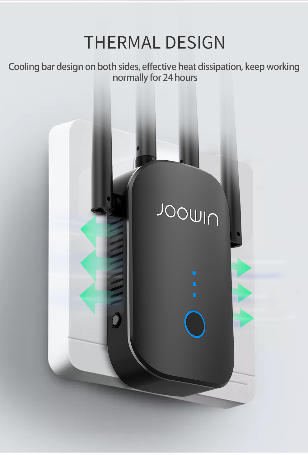 1200Mbps Long Range Dual Band 2 4 5Ghz Wireless Wifi Roteador High Power Wifi Repeater Wi fi Extender Wlan Wi-fi Amplifer