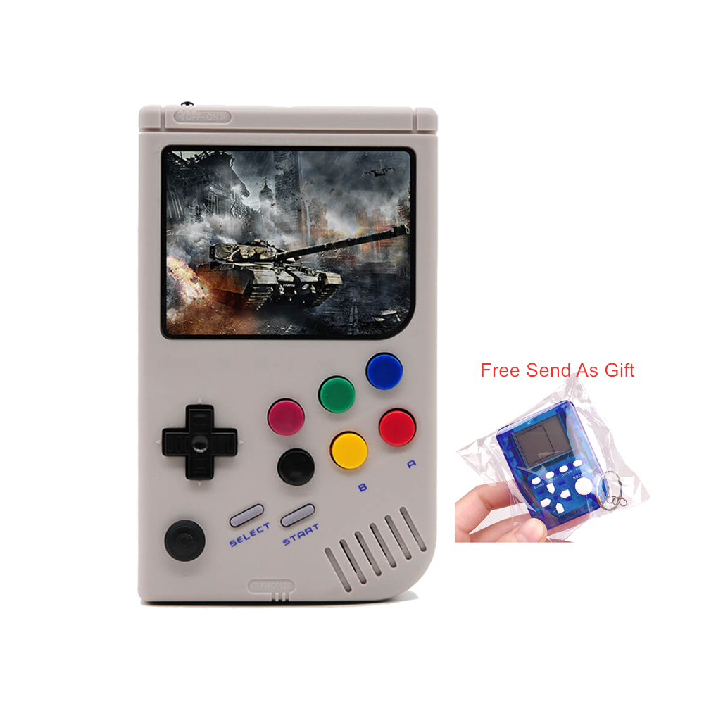3.5 Inch LCL-Pi Handheld Arcade Retro Video Game Console For Game Boy Console Raspberry Pi 3 A+ Game Players Built-in 5000 Games