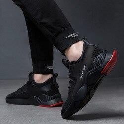 Primavera sapatos masculinos sapatos de borracha tênis de corrida masculino resistente ao desgaste sapatos casuais masculinos de estilo coreano sapatos na moda travel tr