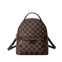 KYYSLO Wild Plaid Luxury Lady Bags Backpack New Temperament Large Capacity