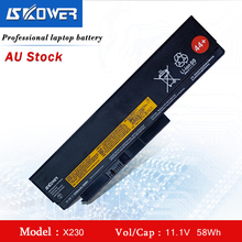 SKOWER Laptop Battery 45N1023 For Lenovo ThinkPad X220 X230 X220i X230i Series 45N1024 11.1V/5200mAh 44+ 11 1v 94wh 9cell x230 original new laptop battery for lenovo thinkpad x220i x220 x230i 0a36307 42t4940 0a36281 45n1022 45n1023