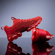 X40 Sneakers Air Red Black and White