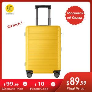 PC Suitcase Luggage Tsa-Lock 4-Wheel Travel Business Carry On Ninetygo 90fun Spinner