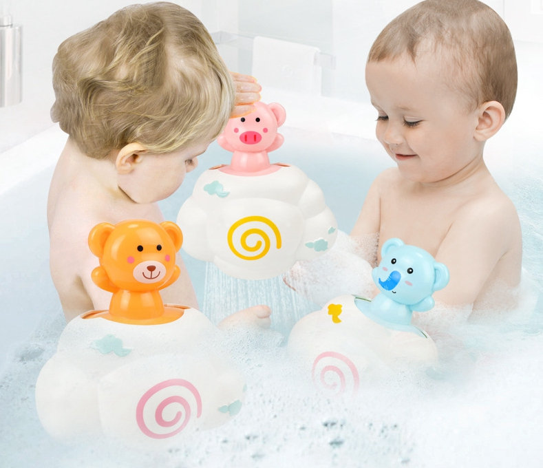 Child Interactive Toys For Bathing Water Spray Shower Playing Clouds For Rain Interesting Gifts For Infants Children Toy