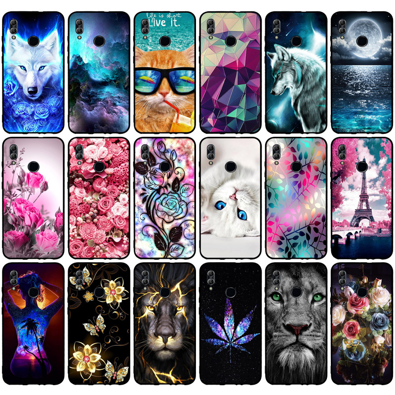 Case For Coque Huawei Honor 10 Lite Cover Soft Silicone Back Cover For Fundas Huawei P Smart 2019 Case Honor 10 Lite Phone Cases