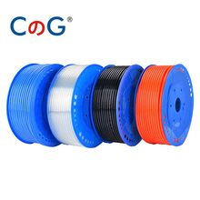CG 5 meters Pneumatic Tube Air Tubing Component Pneumatic Air Hose 4mm 6mm 8mm 10mm 12mm PU Pipe Air Line Hose for Compressor