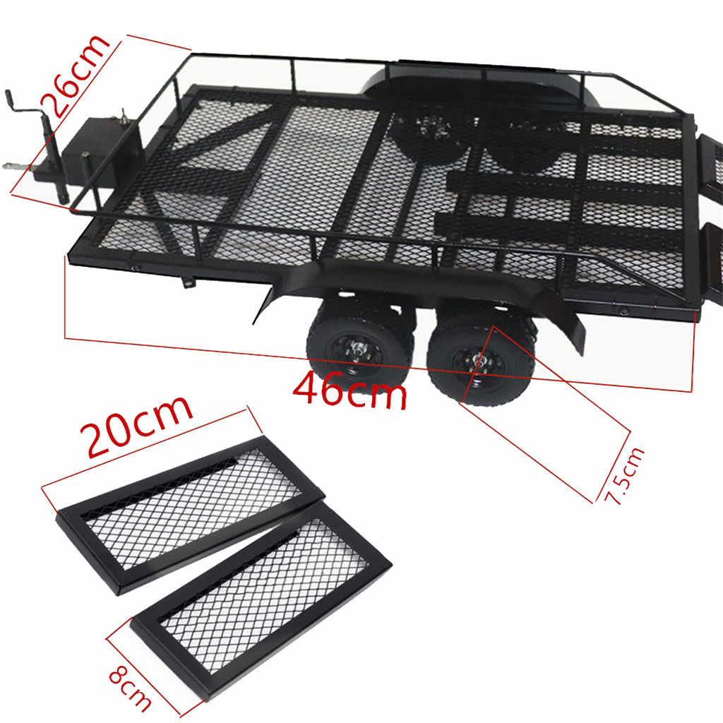 Xtra Speed 1:10 Heavy Duty Truck and RC Cars Trailer Crawler Truck E