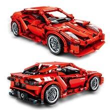 SEMBO FRR-458 Mechanical Password Simulation Racing Sports toy Car Building Blocks Set Bricks kids Educational Toys for Children