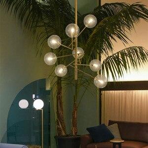 Image 4 - Europe Modern Creative Concise Style Glass Pendant Light Glass Bubbles Study Livingroom Restaurant Cafe Decoration Lamp