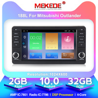 MEKEDE Android 10.0 2G+32G car dvd radio video gps navigation for Mitsubishi outlander lancer asx 2012 2013 2014 DSP sound ic