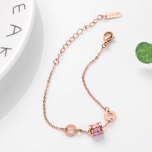 Модные ювелирные браслеты кулон Круглый браслет из титановой