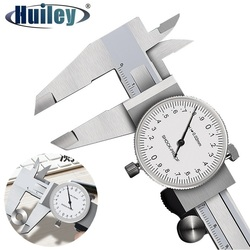 Dial Calipers High Precision Metal Vernier Calipers Shockproof Height Depth Inner Outer Diameter Tester 0-200 mm Measuring Tools